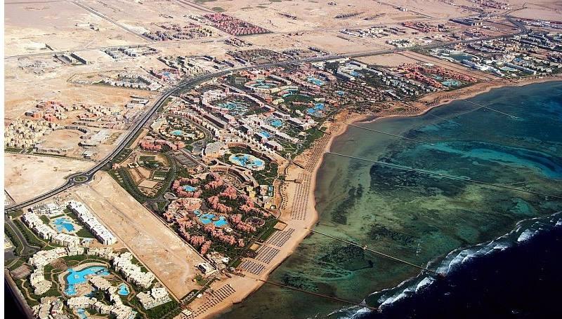 Аэропорт на одном из самых популярных курортов Египта
