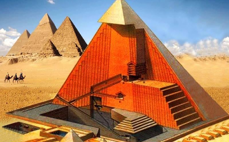 История строительства пирамиды Хеопса