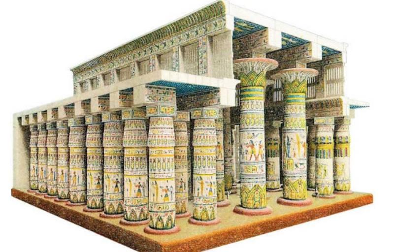 модель колонн